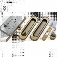 Комплект для раздвижных дверей Morelli MHS150 WC AB