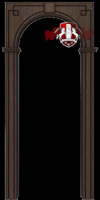 Межкомнатная арка, венге
